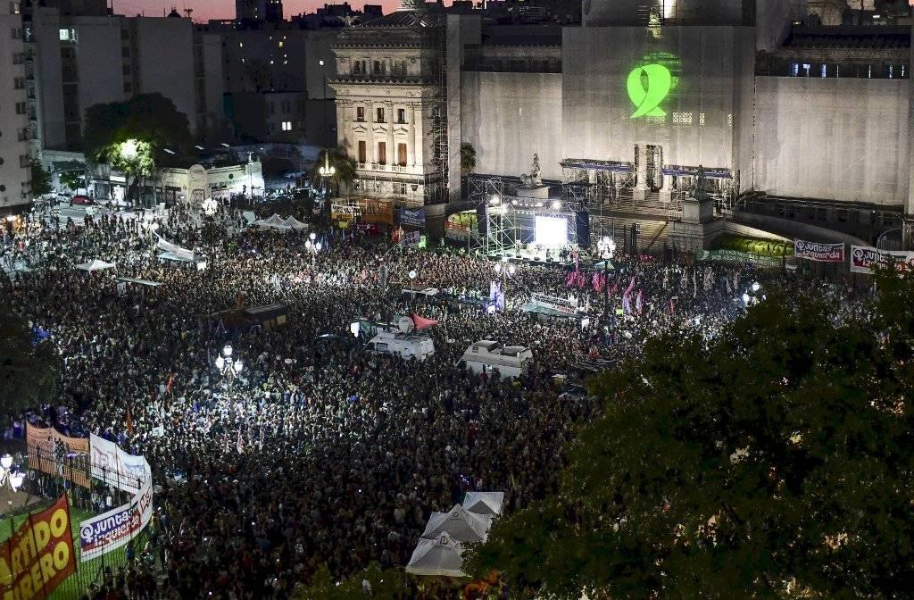 Aborto Argentina manifestación