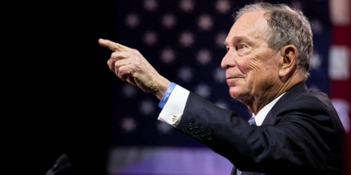 """Con una fortuna """"inmoral"""" y """"acosador"""" de mujeres: los ataques que recibe Michael Bloomberg en polémicas primarias demócratas"""