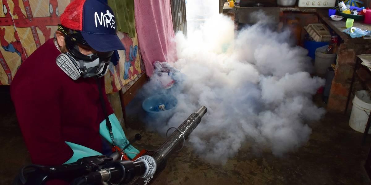Brigadas médicas, fumigación y toldos para prevenir enfermedades en Pedro Carbo