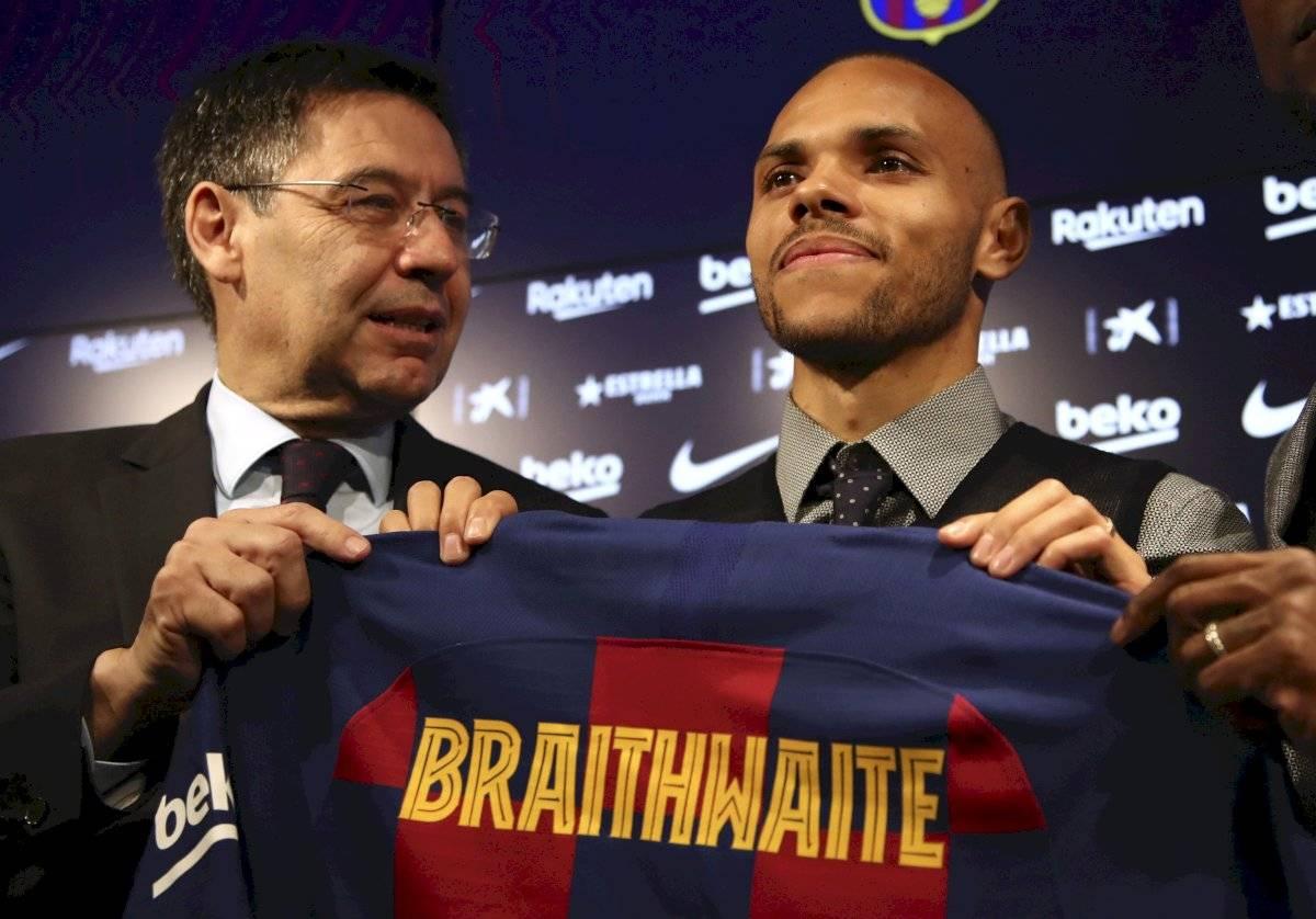 Martin Braithwaite nuevo jugador del Barcelona