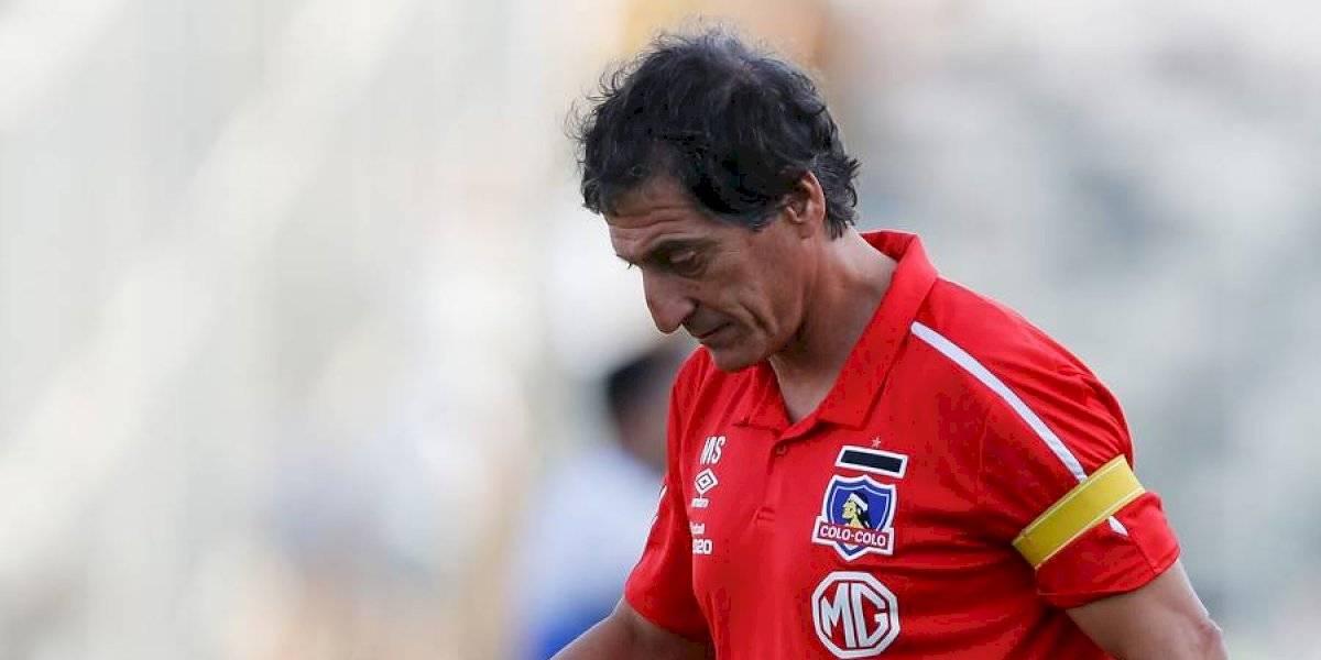 Mario Salas está en el límite de derrotas seguidas para seguir en Colo Colo