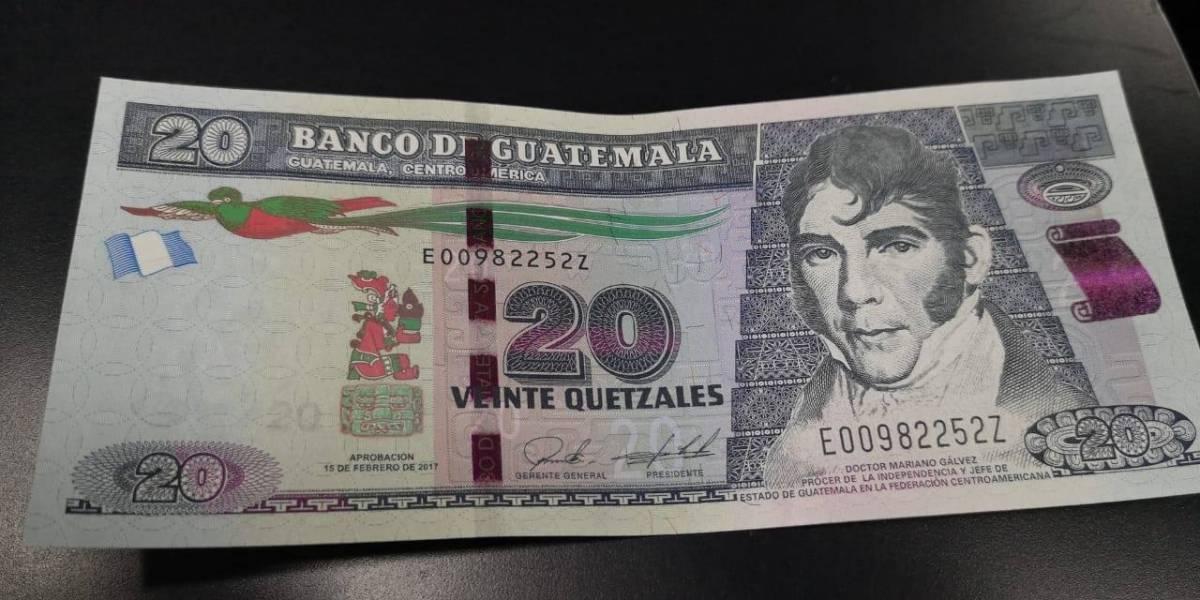 Banguat elaborará billete de Q20 conmemorativo por 200 años de Independencia