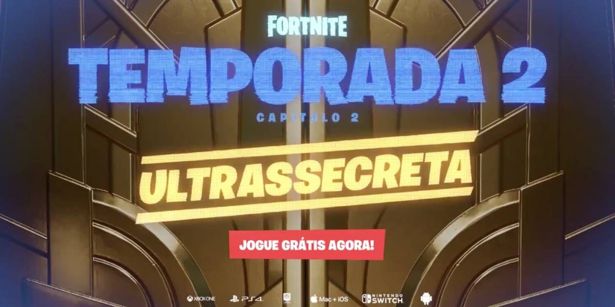 Nova season Fortnite: Capítulo 2 – Temporada 2já está disponível