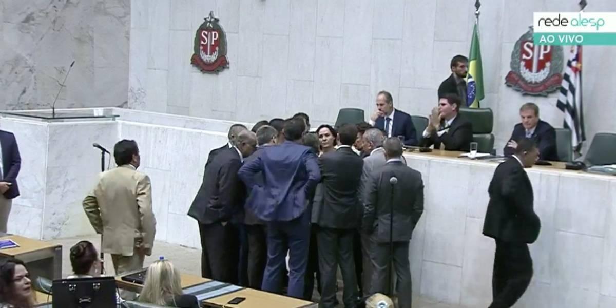 Alesp adia 2ª votação da Reforma da Previdência em meio a agressões entre deputados