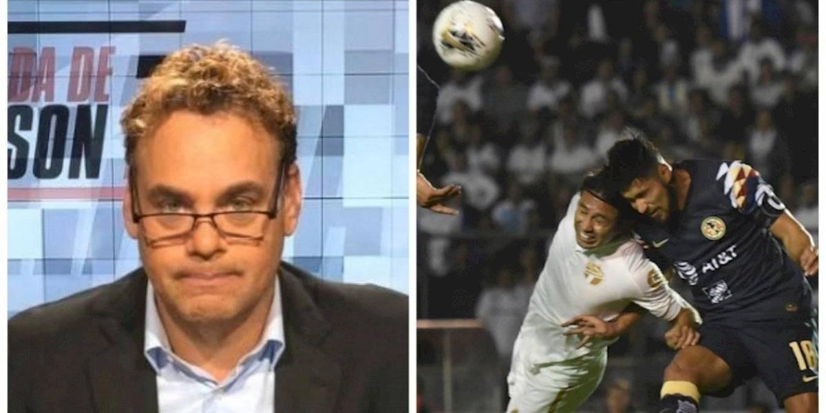 """David Faitelson suelta """"veneno"""" al futbol guatemalteco por el cremas-América"""