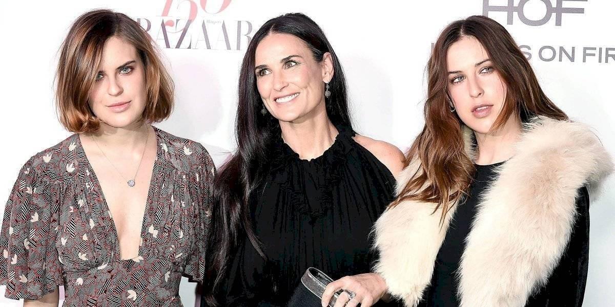 Hija de Demi Moore y Bruce Willis aparece desnuda en Instagram