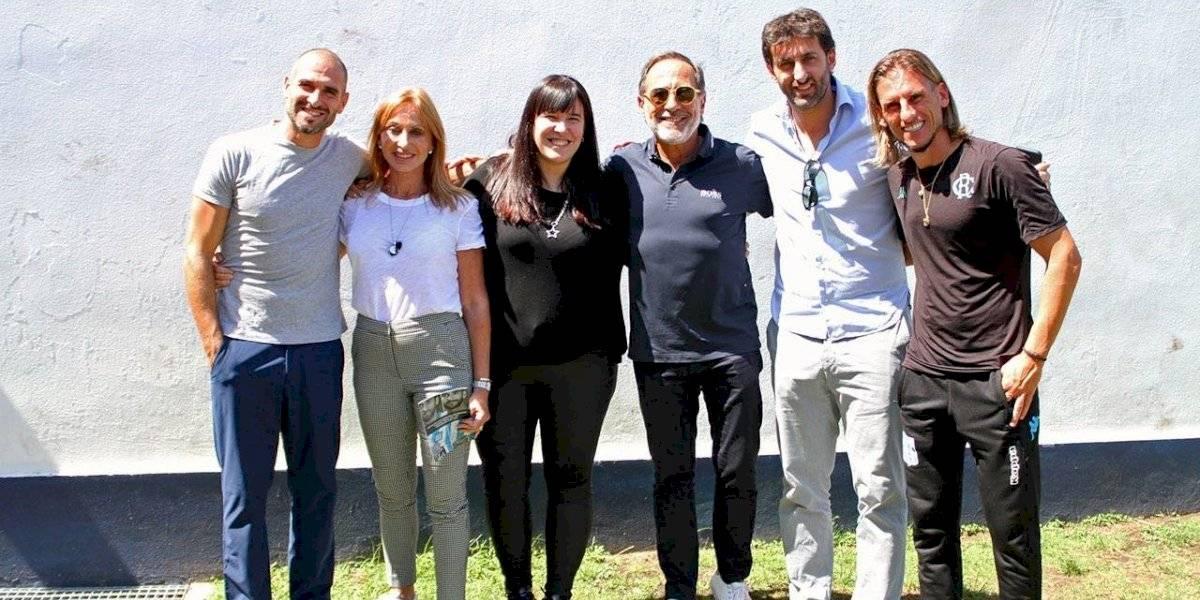 """Guillermo Francella visitó a los """"héroes de Avellaneda"""" y compartió con Marcelo Díaz: """"Lo que pasó es para toda la vida"""""""