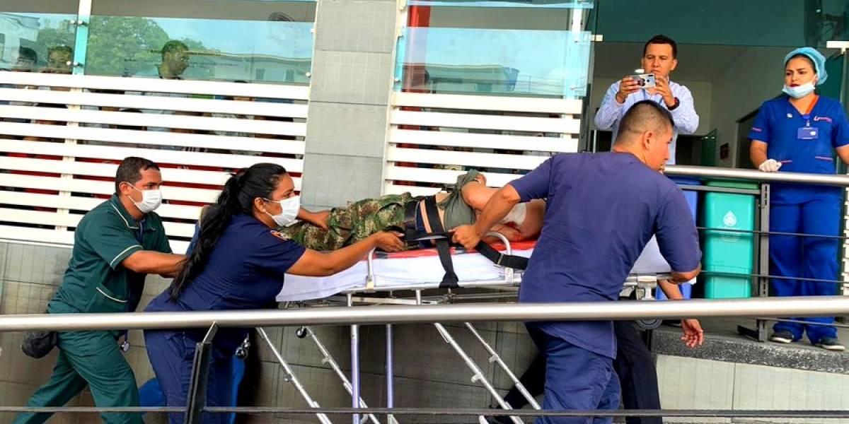 Dos soldados muertos y dos heridos en un atentado en Meta