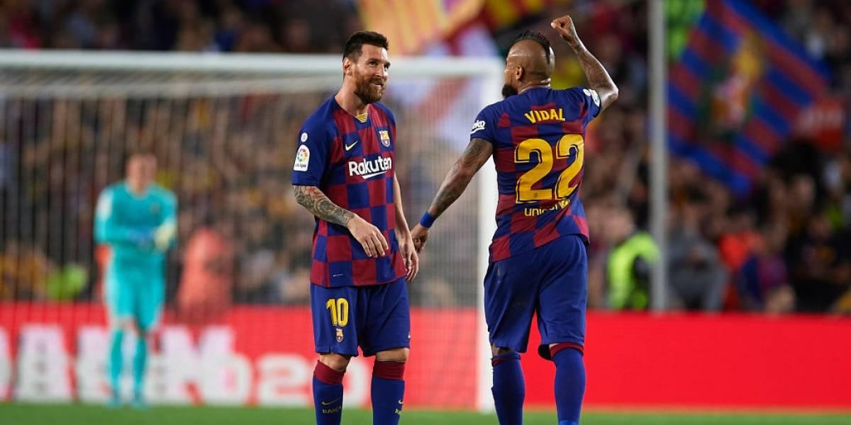 Messi quiere seguir mucho tiempo en Barcelona y reconoció una curiosa relación de sus hijos con Arturo Vidal