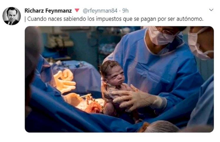 Recién nacida con cara de enojo se hace meme en las redes sociales Twitter