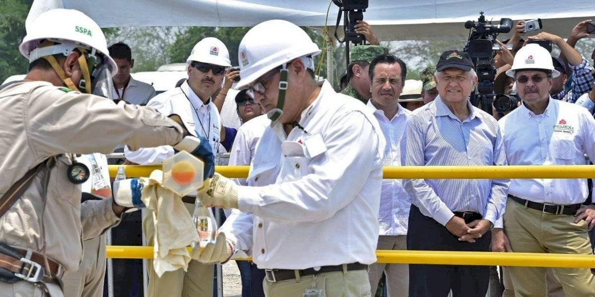 Prevé AMLO aumentar producción de crudo con nuevos yacimientos