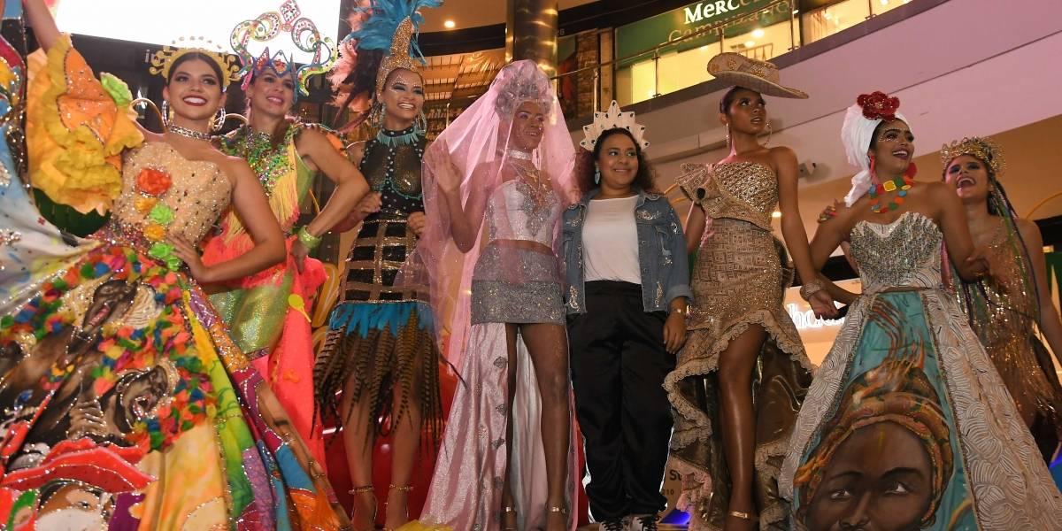 Musas del Caribe inspiran otras formas de concebir la moda en el Carnaval de Barranquilla