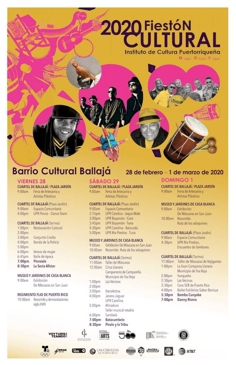 Calendario Fiestón Cultural