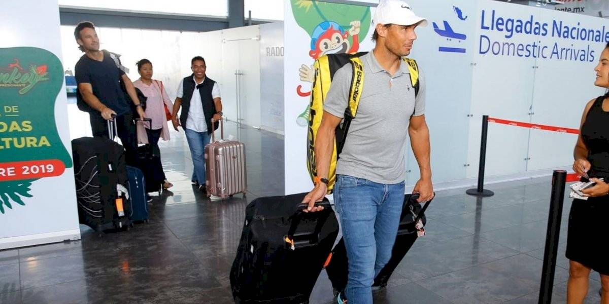 Alexander Zverev entrena en Acapulco