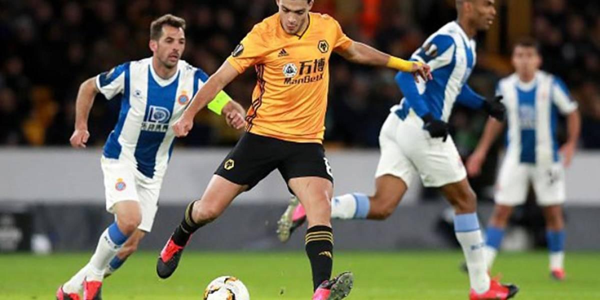 Las estadísticas de Raúl Jiménez en la victoria de Wolves en Europa League