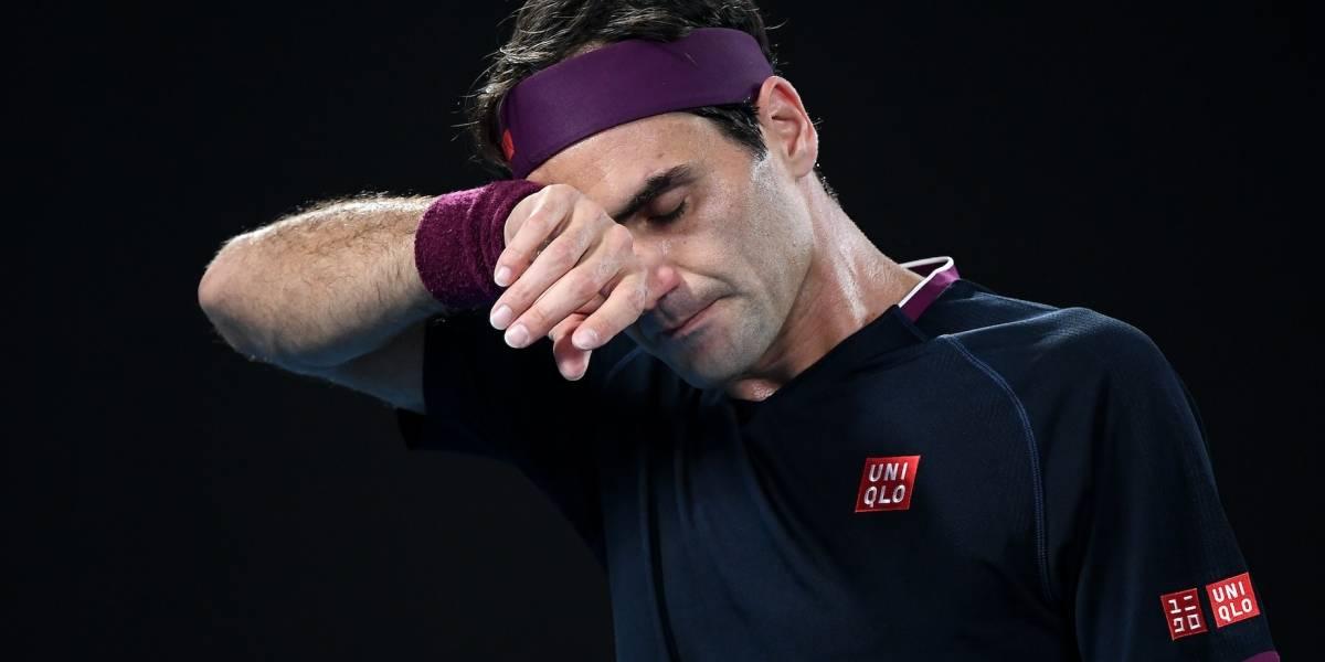 Roger Federer es operado de la rodilla y se perderá el Roland Garros