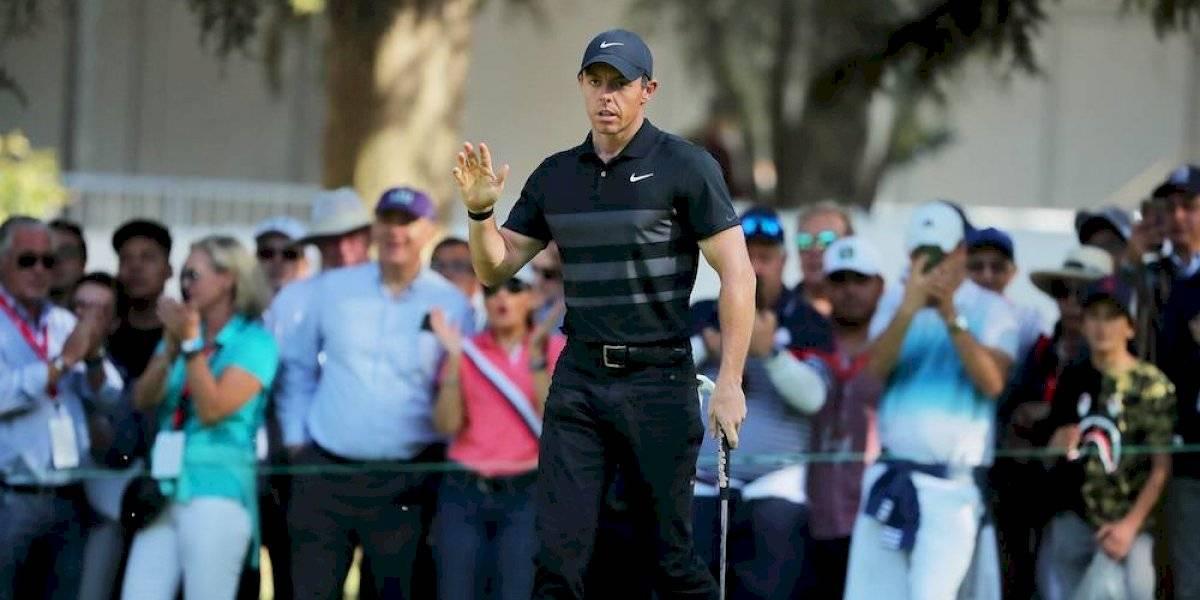 Rory McIlroy lidera el WGC tras su primera ronda