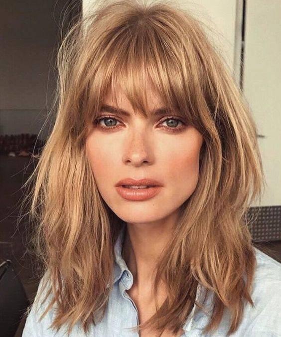 cortes de cabello para frente amplia