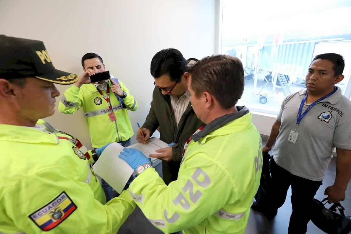 Pablo Romero, exjefe de Inteligencia de Correa llegó a Ecuador extraditado desde España Cortesía