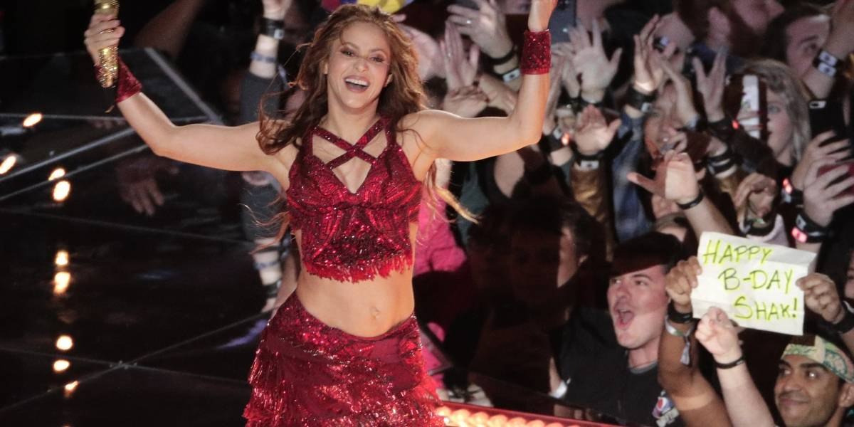 Shakira quedó encantada con su pequeña imitadora, la hija de Ivan Rakitic