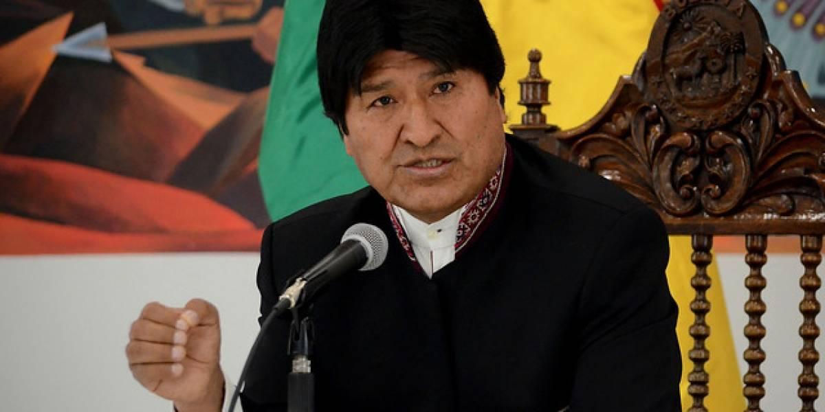 """Evo Morales: Dictamen que le impide postular al Senado """"es un golpe a la democracia"""""""
