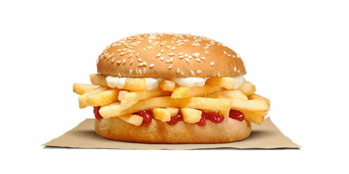 ¿Hamburguesa de papas fritas? El invento de Burger King que asusta a los usuarios