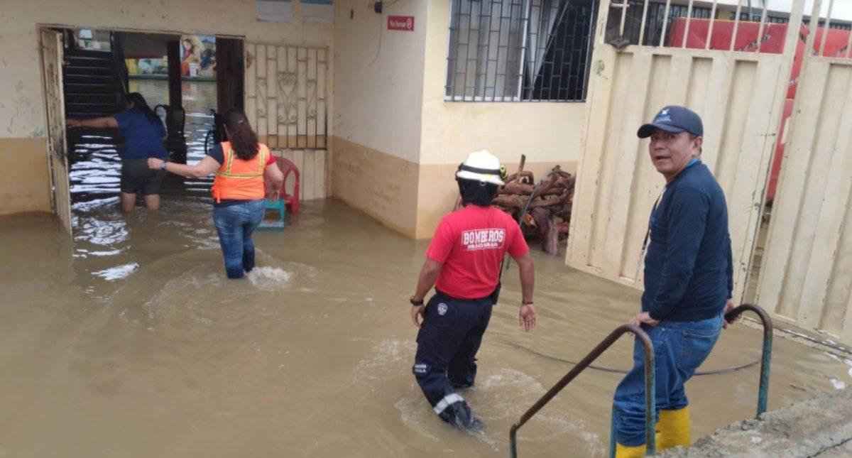 Inundaciones en El Oro