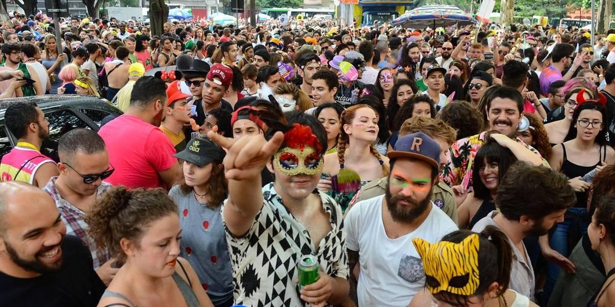 Carnaval termina com 1,3 mil detidos em São Paulo