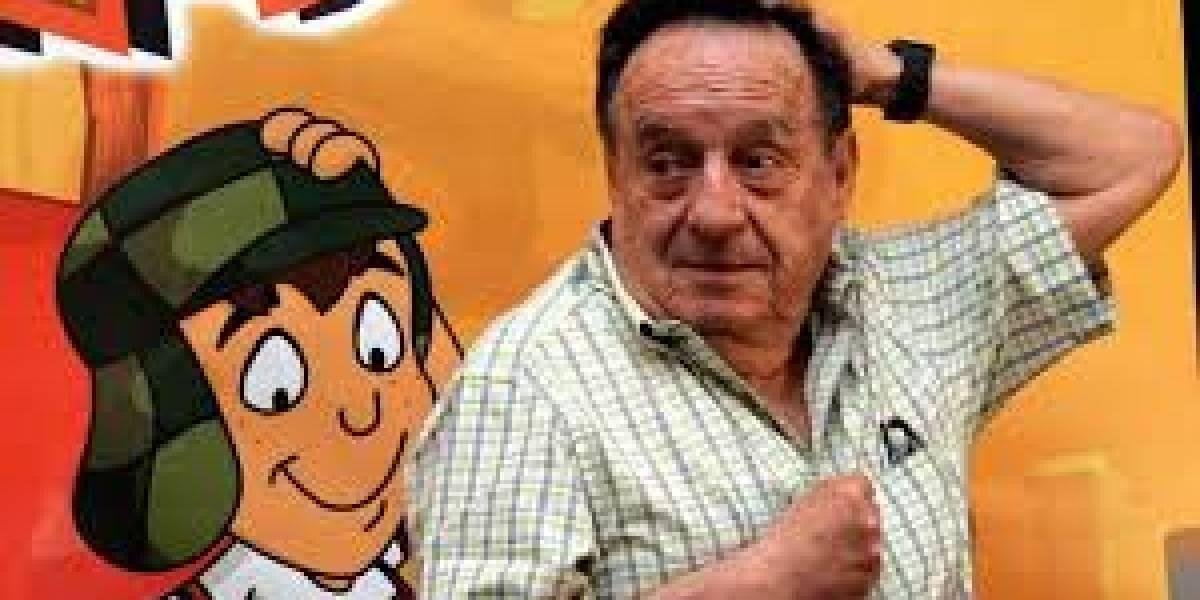"""""""Doodle"""" de Chespirito celebra el natalicio 91 de Roberto Gómez Bolaños"""