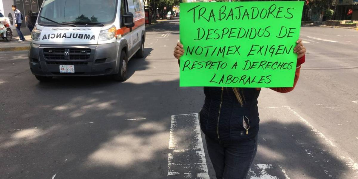 "Estalla huelga en Notimex; agencia la da por ""fracasada"""