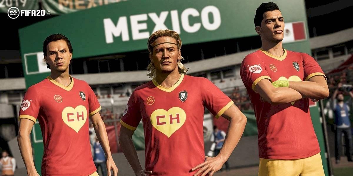 FIFA 20 lanza uniforme en homenaje a Chespirito