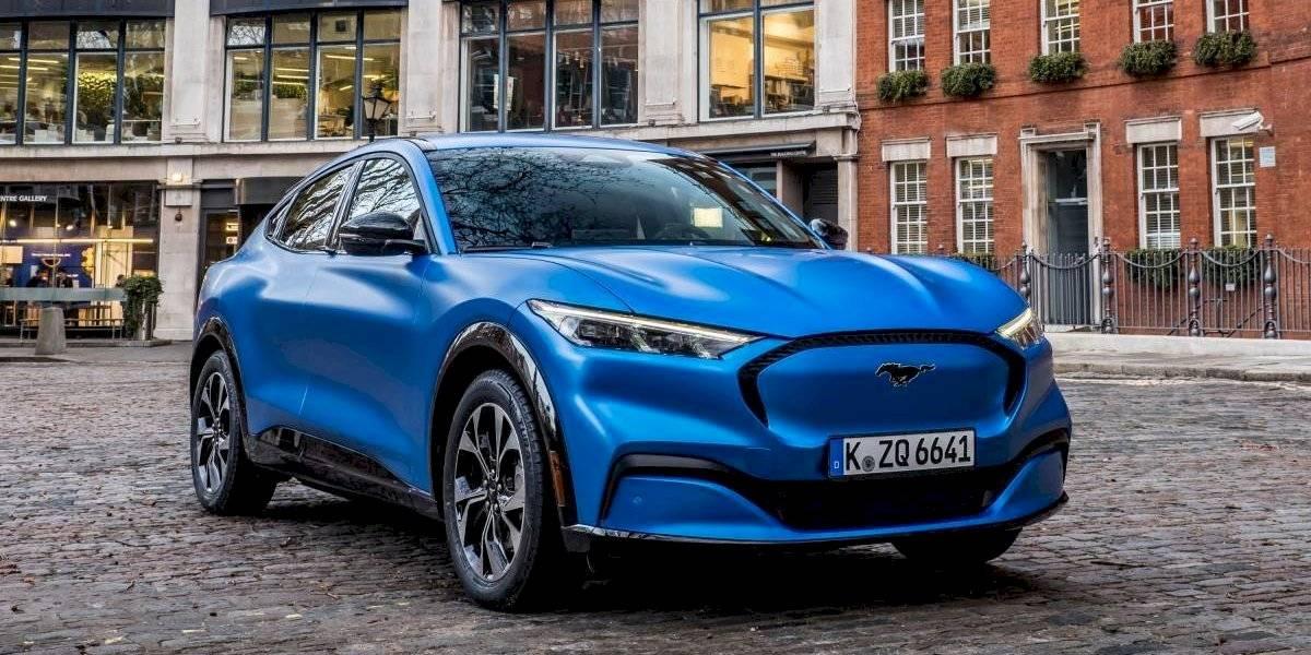 Ford luce su Mustang Mach-E en Europa