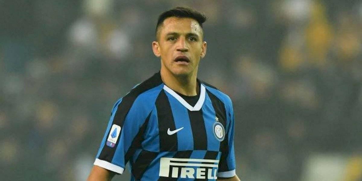 La prensa italiana destacó el alza de rendimiento de Alexis Sánchez en la Europa League