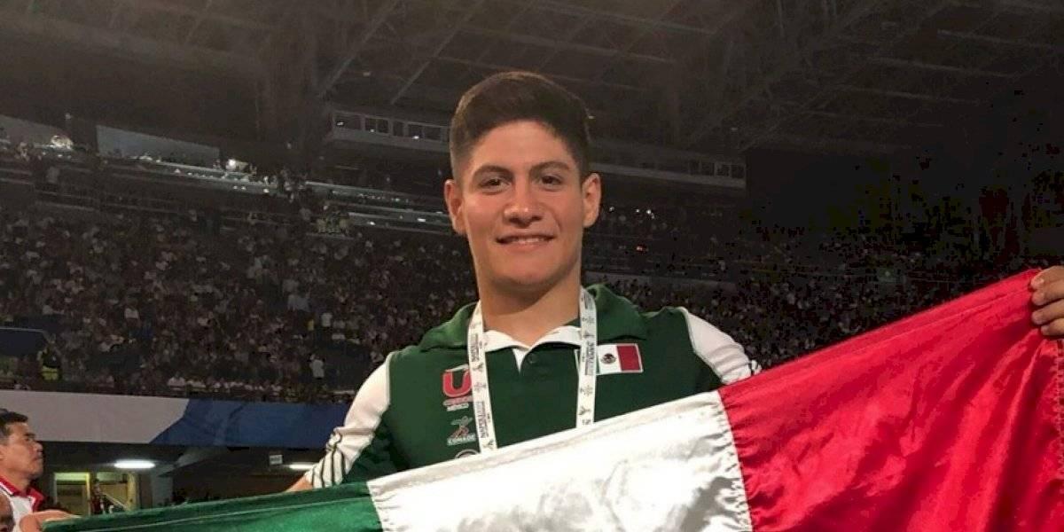 Gimnasta Joshua Valle queda séptimo en Copa del Mundo