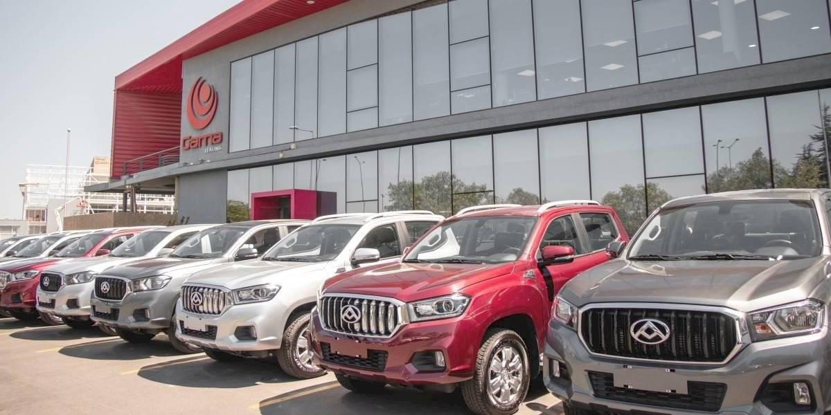 Gama Leasing se expande con flota de pick-ups Maxus