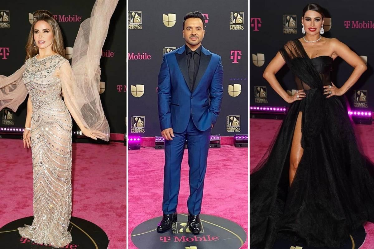 Los Mejores Vestidos De La Alfombra Magenta De Premio Lo Nuestro 2020 Publimetro Mexico
