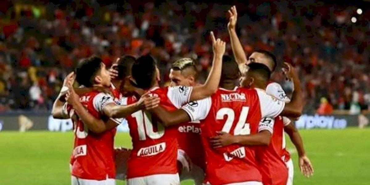 Santa Fe vs. América de Cali   Noche roja en Bogotá