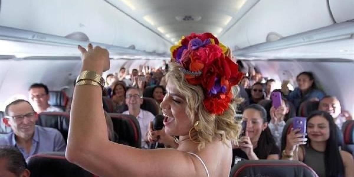 El Carnaval de Barranquilla arrancó en las alturas