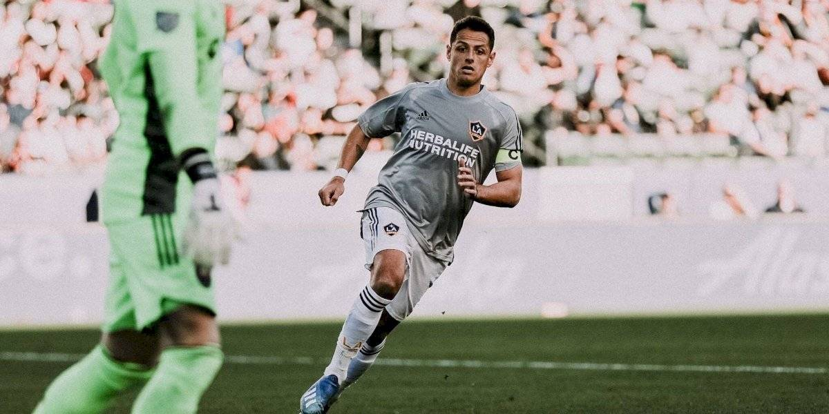 VIDEO: Asistencia del Chicharito evita derrota del Galaxy