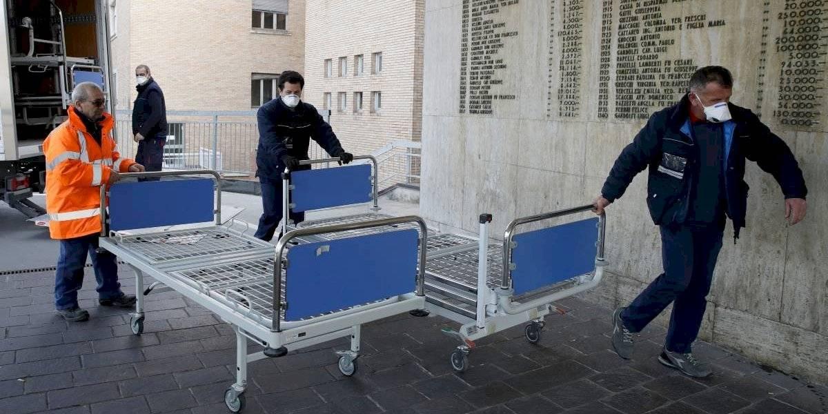 Italia registra 475 muertes en las últimas 24 horas y el total de fallecidos llega a 2.978 por el coronavirus