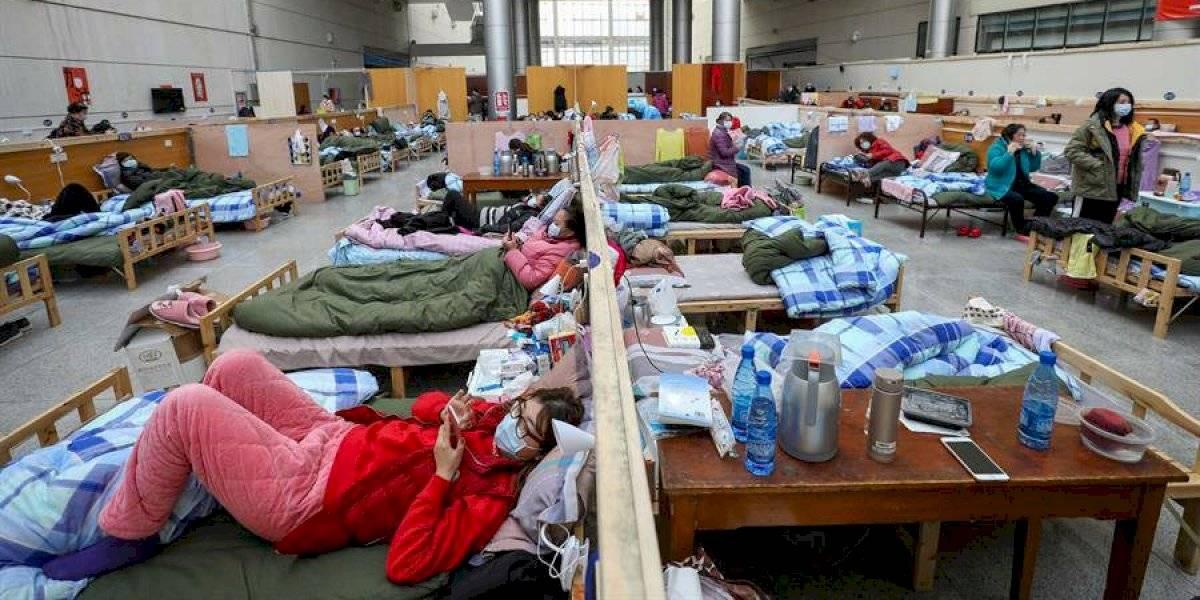 Infecciones por coronavirus alcanza a 76 mil 936 personas en China