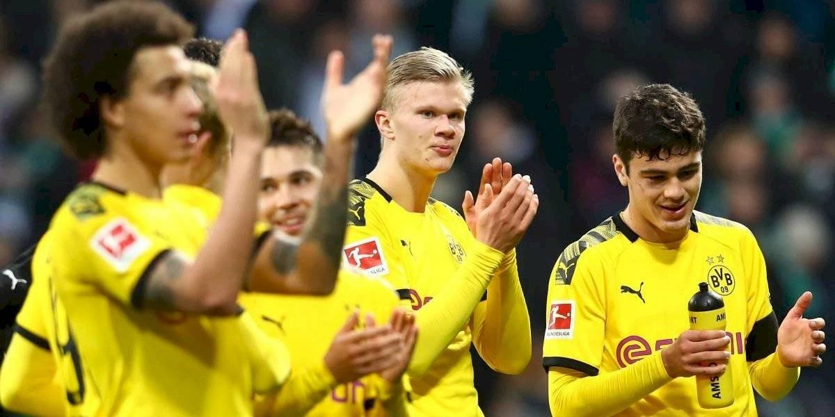 Otra vez Erland Haaland: el Dortmund gana con nuevo gol de la joya noruega