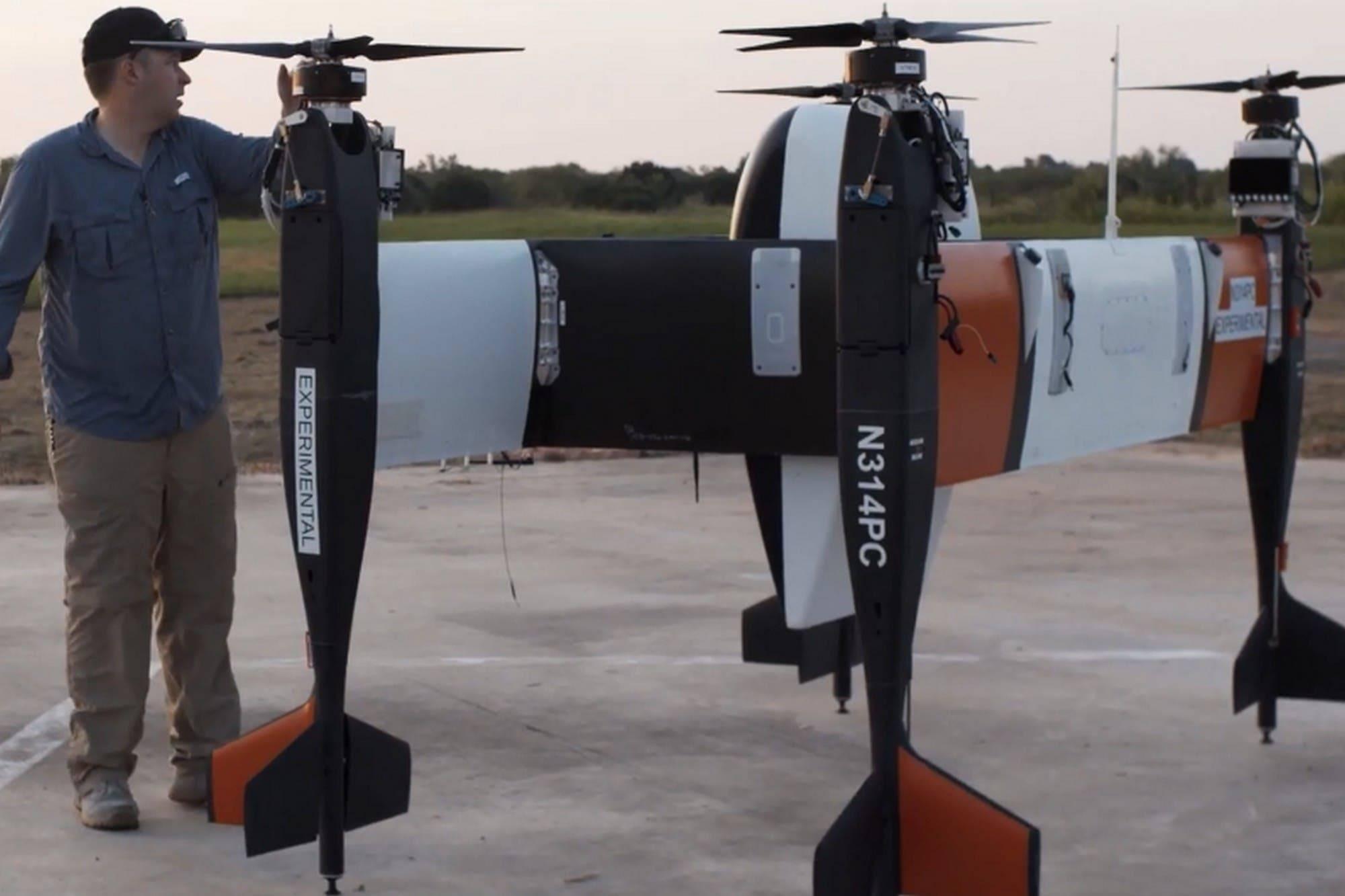 Conoce al nuevo drone cuadricóptero que puede levantar más de 30 kilos