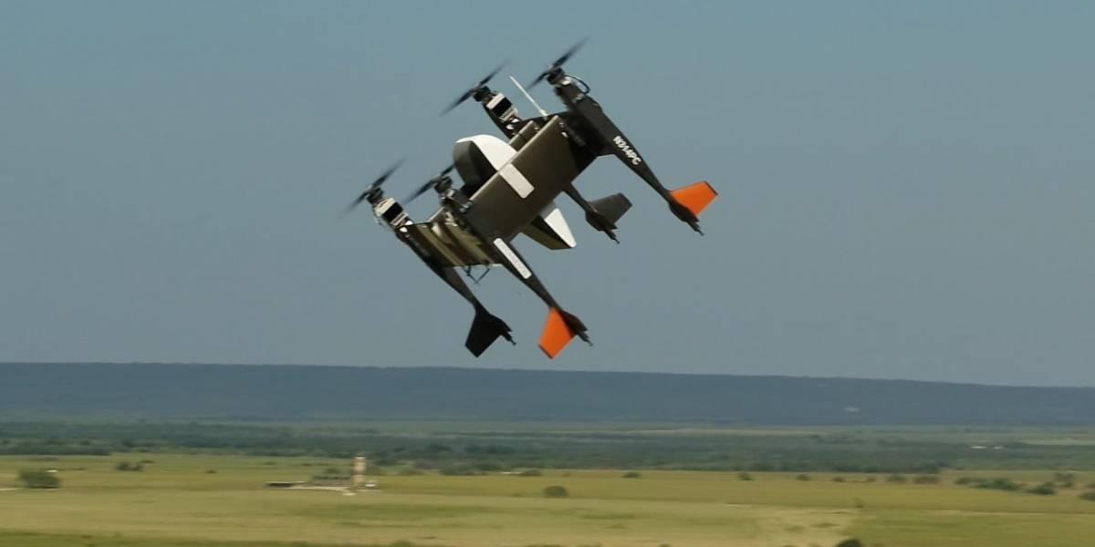 Drone todopoderoso: conoce al cuadricóptero que puede levantar más de 30 kilos