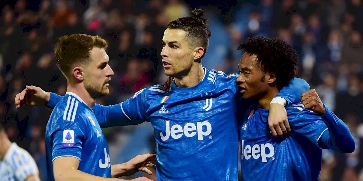 La Juventus gana y Cristiano Ronaldo iguala marca histórica