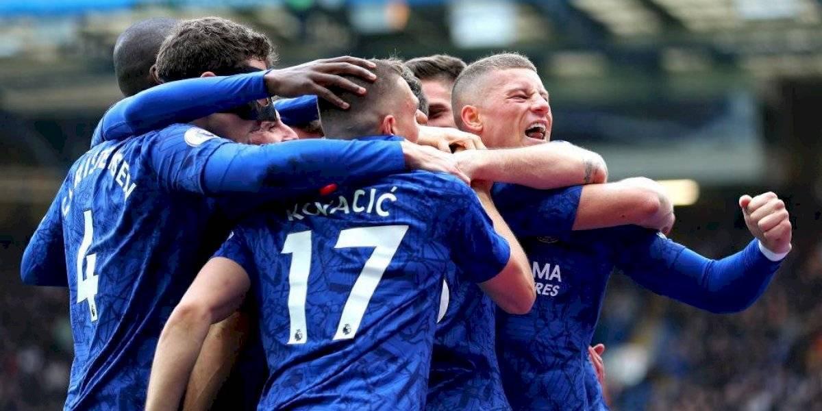 Chelsea derrotó al Tottenham por Premier League y se afianzó en posiciones de Champions