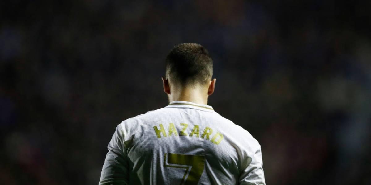 Hazard se lesiona y es duda para Champions y el Clásico