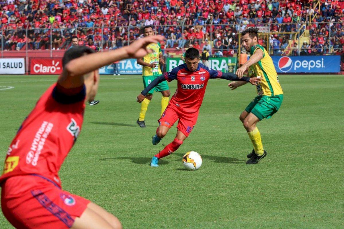 Municipal vs Guastatoya por el Clausura 2020
