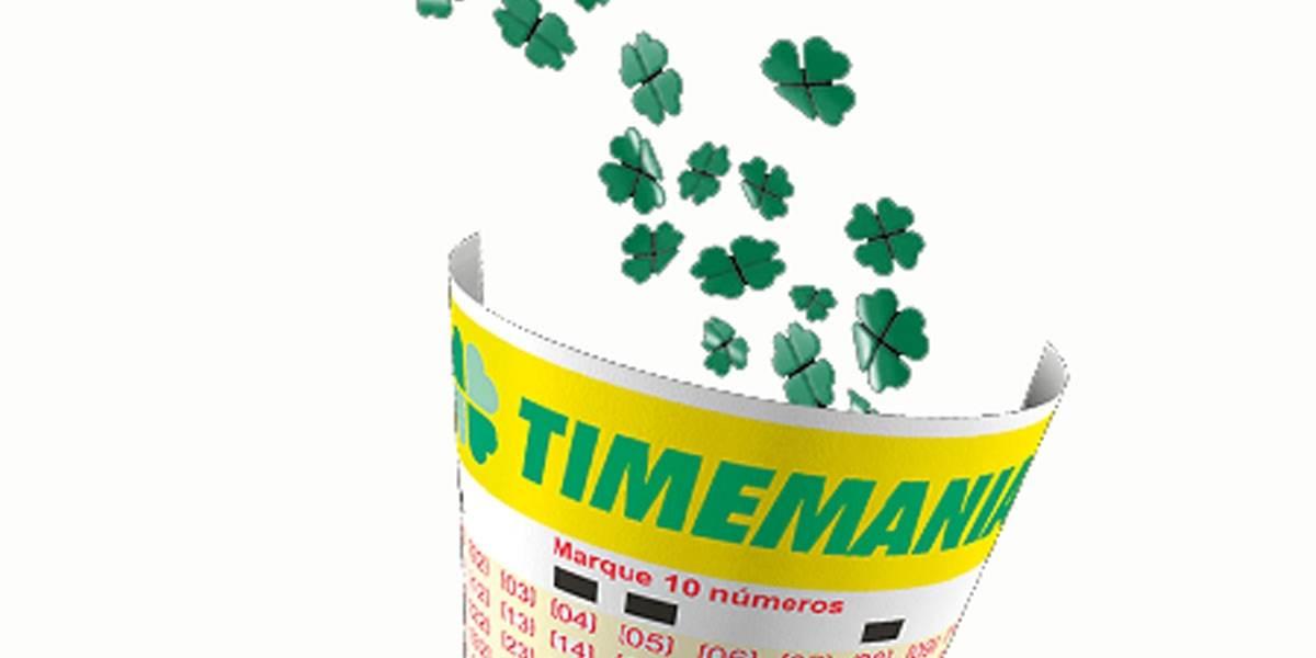 Timemania 1511: que horas sai o resultado do sorteio desta quinta, 16 de julho