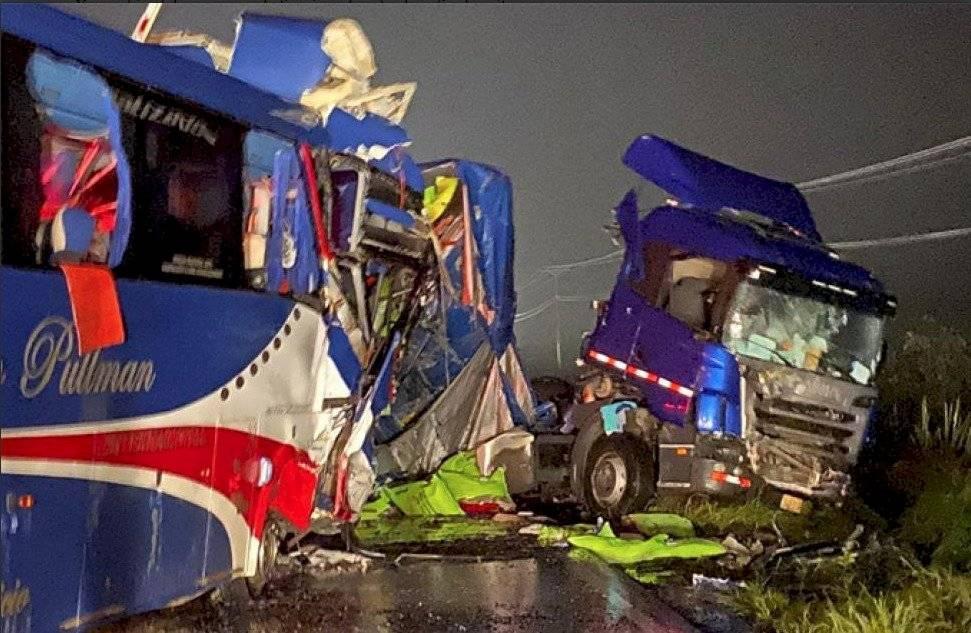 Accidente de tránsito en Carnaval vía Yaguachi